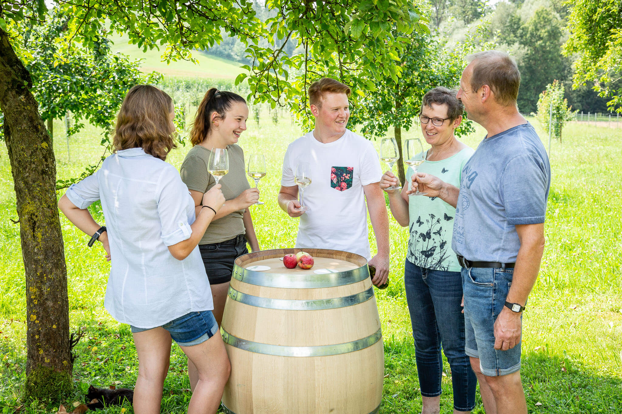 Lackner Hofkellerei Walding Familienbetrieb Leidenschaft Most Cider