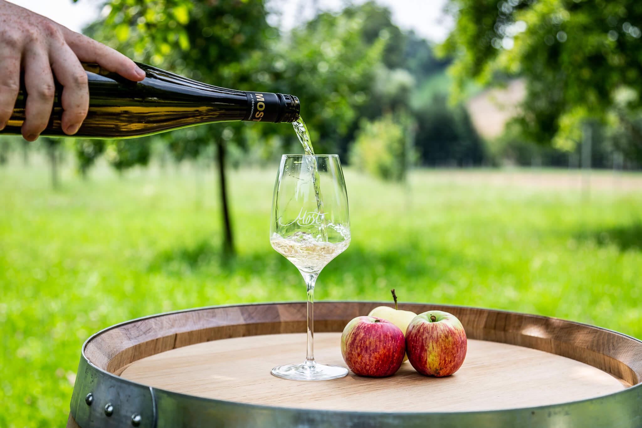 Lackner Hofkellerei Walding Most Erfrischung Genuss Cider