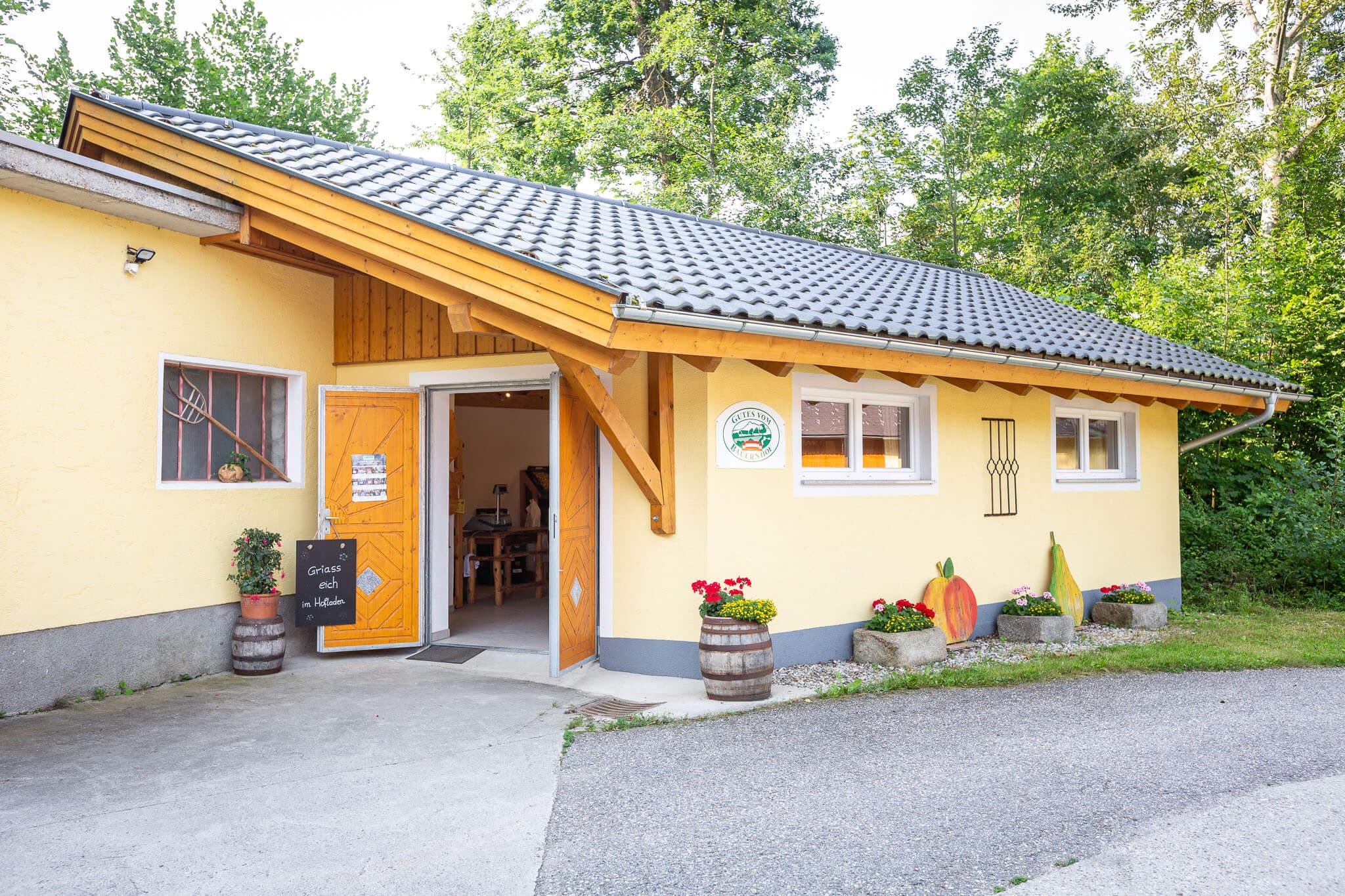 Lackner Hofkellerei Walding Hofladen Einkaufen