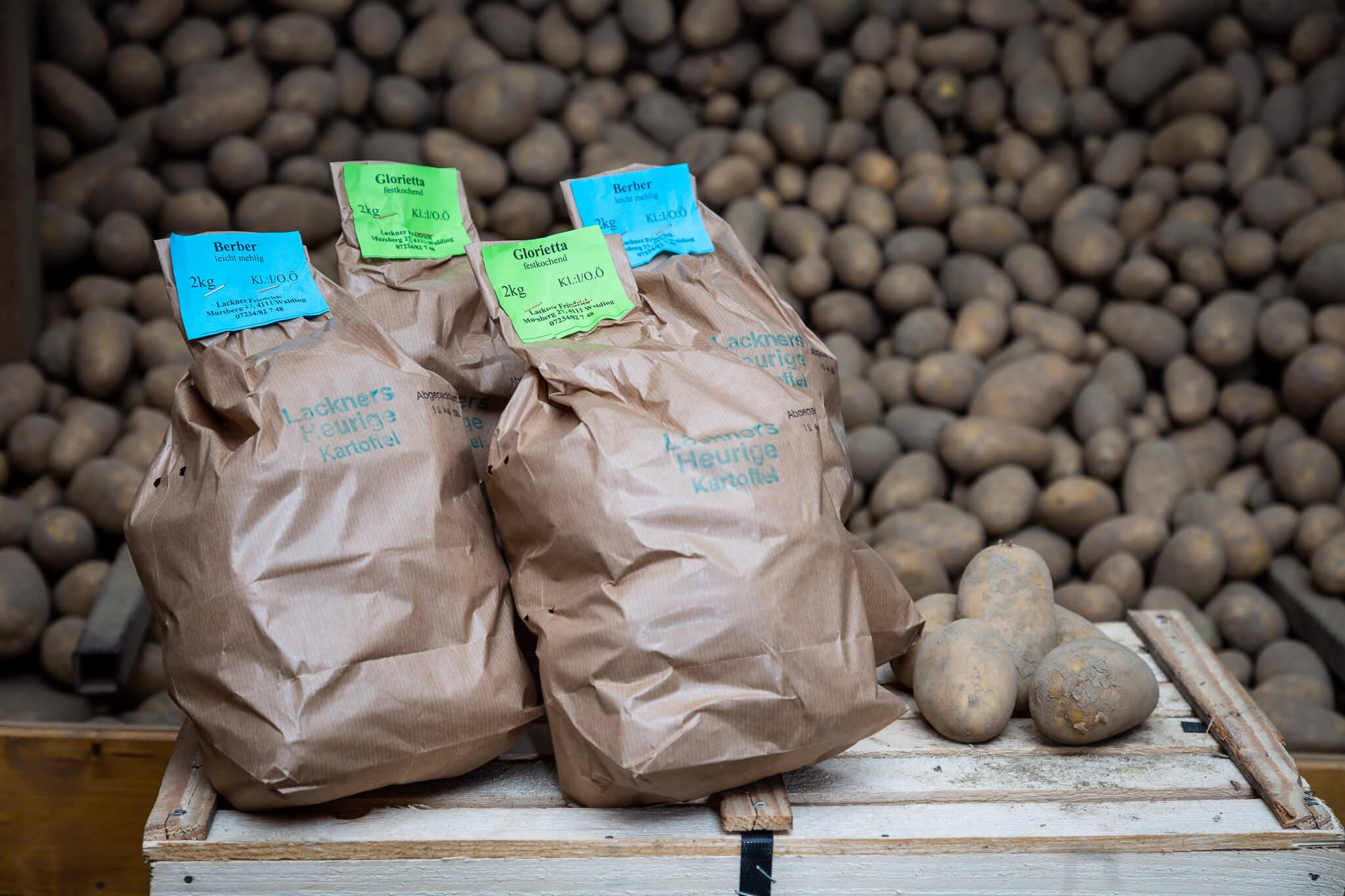 Lackner Hofkellerei Walding Erdaepfel Kartoffel Heurige